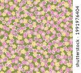 cute japanese cherry blossom... | Shutterstock .eps vector #1991976404