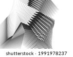 abstract halftone lines... | Shutterstock .eps vector #1991978237