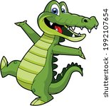 Crocodile Crocodile Cartoon...