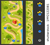 seamless map for a mobile game. ...