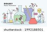 scientists are doing scientific ... | Shutterstock .eps vector #1992188501