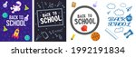 back to school. colorful back...   Shutterstock .eps vector #1992191834