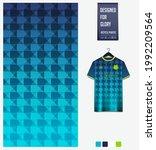 soccer jersey pattern design.... | Shutterstock .eps vector #1992209564