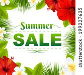 Sale Tropical Frame With...