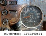 Control Panel Of An Old Car...