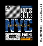 outfitter states  nyc  new york ... | Shutterstock .eps vector #1992361361