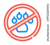 non animals in canteen mark... | Shutterstock .eps vector #1992365441