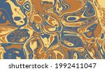 ink marble background. abstract ...   Shutterstock .eps vector #1992411047