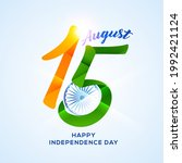 independence day in india...   Shutterstock .eps vector #1992421124
