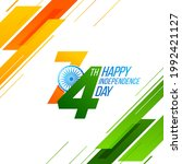 independence day in india...   Shutterstock .eps vector #1992421127