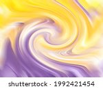 abstract purple and yellow... | Shutterstock . vector #1992421454