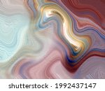 abstract colorful paint brush... | Shutterstock . vector #1992437147