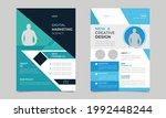 digital business marketing ... | Shutterstock .eps vector #1992448244