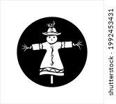 Scarecrow Icon  Mannequin ...