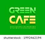 vector creative emblem green... | Shutterstock .eps vector #1992462194
