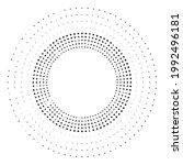 textured halftone dots in...   Shutterstock .eps vector #1992496181