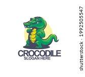 elements crocodile mascot logo... | Shutterstock .eps vector #1992505547