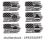 set of barbecue american flag... | Shutterstock .eps vector #1992533597