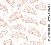 a seamless pattern with slices... | Shutterstock .eps vector #1992548267