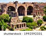 Basilica Of Maxentius And...