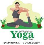 vector design for international ... | Shutterstock .eps vector #1992610094