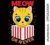 cat lover vector illustration... | Shutterstock .eps vector #1992625004