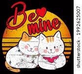 cat lover vector illustration... | Shutterstock .eps vector #1992625007