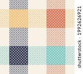 abstract geometric vector... | Shutterstock .eps vector #1992626921