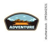 adventures outdoor mountain and ... | Shutterstock .eps vector #1992642521