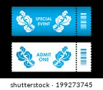 admit one ticket with special... | Shutterstock .eps vector #199273745