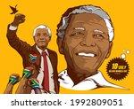 illustrative editorial nelson... | Shutterstock .eps vector #1992809051