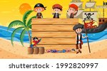 empty banner template with... | Shutterstock .eps vector #1992820997