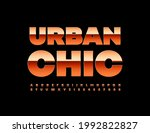 vector glamour sign urban chic... | Shutterstock .eps vector #1992822827