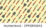 cheese knives  knife set...   Shutterstock .eps vector #1992843641
