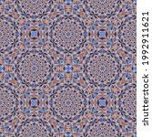 geometric seamless pattern ... | Shutterstock .eps vector #1992911621