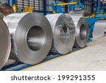 cold rolled steel coils in...   Shutterstock . vector #199291355