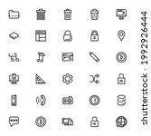 ui ux icon or logo isolated...
