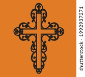 high quality black cross...   Shutterstock .eps vector #1992937271