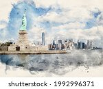 Watercolor Illustration. View...