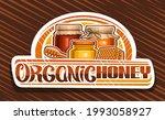 vector logo for organic honey ... | Shutterstock .eps vector #1993058927