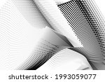abstract halftone lines... | Shutterstock .eps vector #1993059077