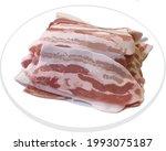 korean dish of pork belly  | Shutterstock .eps vector #1993075187
