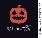 pumpkin. happy halloween....   Shutterstock .eps vector #1993092107