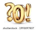 number zero 0 and question mark ...   Shutterstock . vector #1993097837