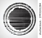 logo with speed lines in grunge ...   Shutterstock .eps vector #1993101284