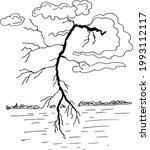 thunderstorm and lightning ...   Shutterstock .eps vector #1993112117
