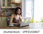 a beautiful young brunette girl ...   Shutterstock . vector #1993142867