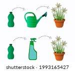fertilizers  watering can ...   Shutterstock .eps vector #1993165427
