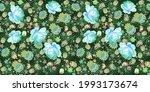 seamless floral motley pattern...   Shutterstock .eps vector #1993173674