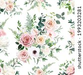 dusty pink and blush rose ... | Shutterstock .eps vector #1993203281